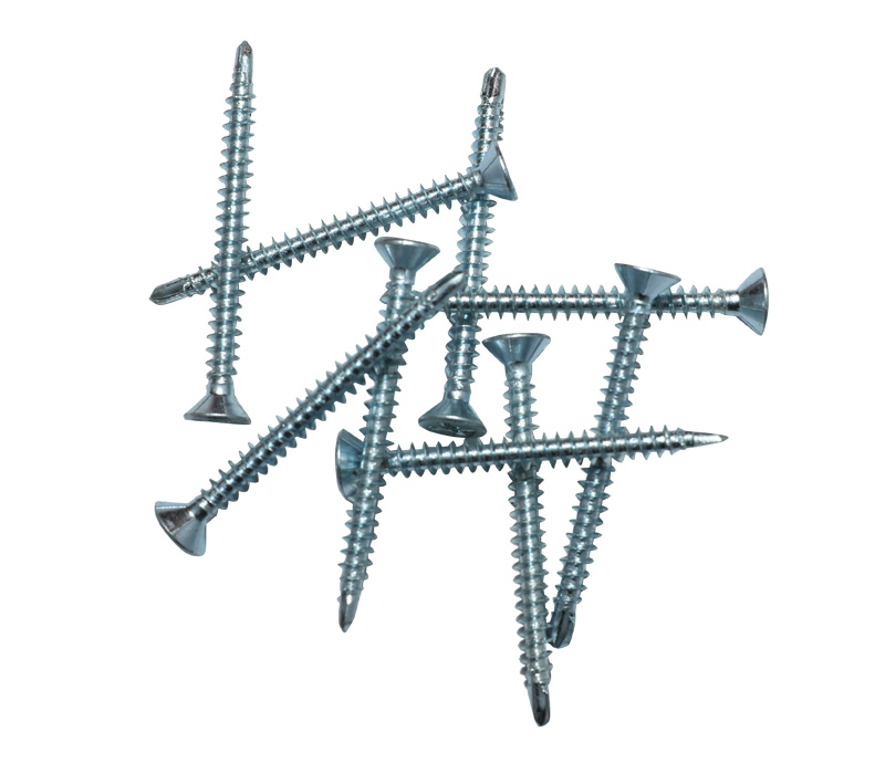 Window drilling screw,white zinc