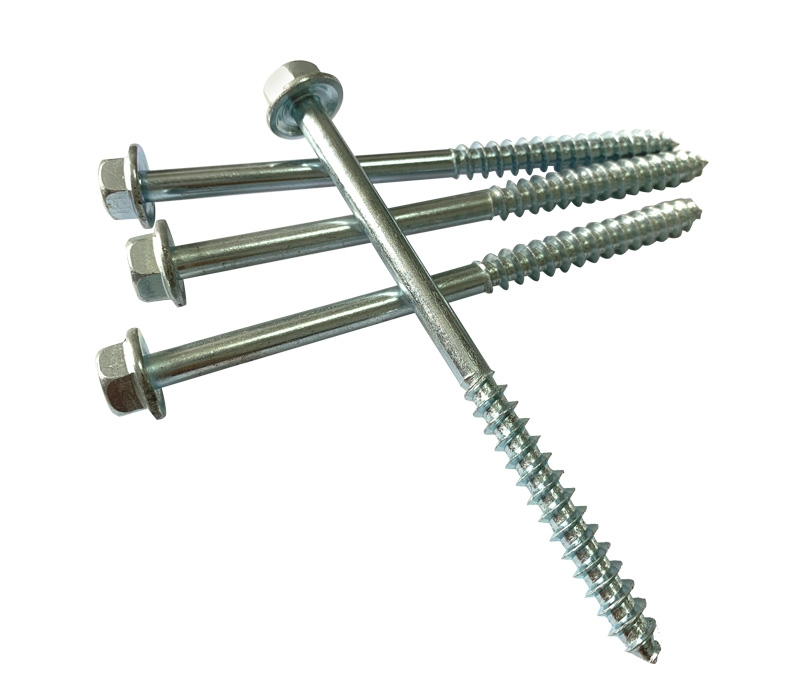 Hex washer head wood screw